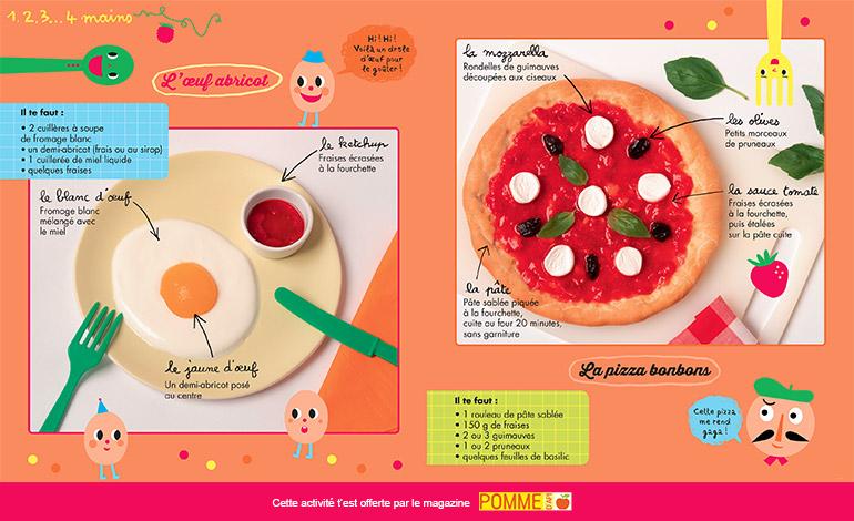 Bricolage : incroyable menu de Pomme d'Api n°641