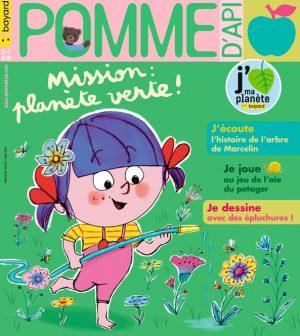 Couverture du magazine Pomme d'Api, n°651, mai 2020