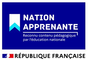 logo Nation Apprenante - Reconnu contenu pédagogique par l'éducation nationale