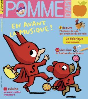 Couverture du magazine Pomme d'Api, n°652, juin 2020