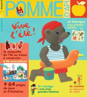 Couverture du magazine Pomme d'Api, n°653, juillet 2020