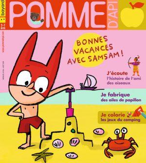 Couverture du magazine Pomme d'Api, n°654, août 2020