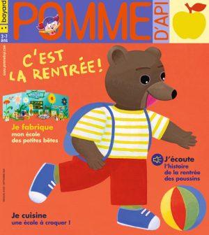 Couverture du magazine Pomme d'Api, n°655, septembre 2020