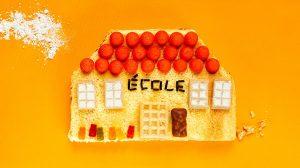 """""""Ton école à croquer"""", Pomme d'Api n°655, septembre 2020. Conception et réalisation : Marie-Pascale Nicolas-Cocagne. Photo : Geoffroy de Boismenu."""