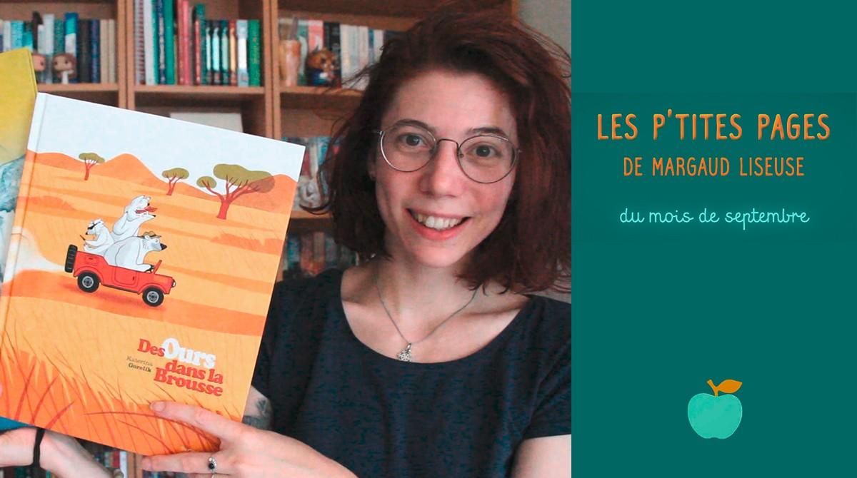 Les p'tites pages de Margaud Liseuse - Conseils de lecture pour enfants, septembre 2020 - Pomme d'Api