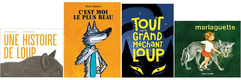 """""""La peur du loup"""", supplément pour les parents du magazine Pomme d'Api n°657, novembre 2020."""