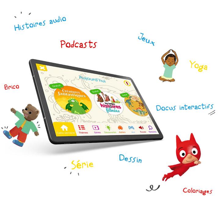Bayam, l'application ludo-éducative pour les enfants de 3-10ans