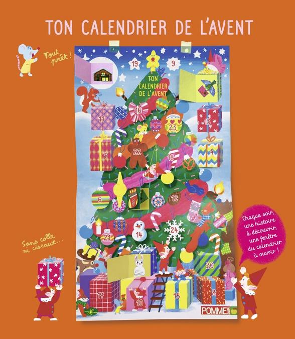 """""""Ton calendrier de l'avent"""", Pomme d'Api n°568, décembre 2020. Illustrations : Vincent Pianina."""