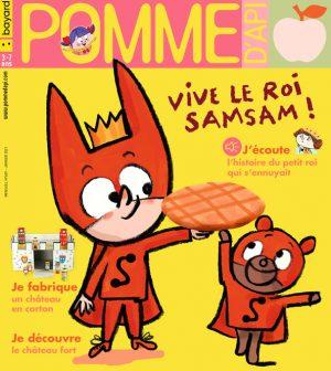 Couverture du magazine Pomme d'Api, n°659, janvier 2021