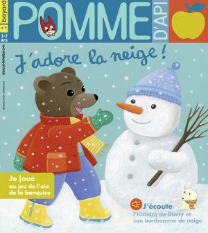 Couverture du magazine Pomme d'Api, n°660, février 2021