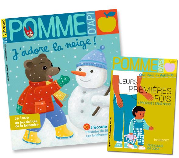 Couverture du magazine Pomme d'Api et son supplément pour les parents, n°660, février2021