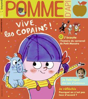 Couverture du magazine Pomme d'Api, n°661, mars 2021