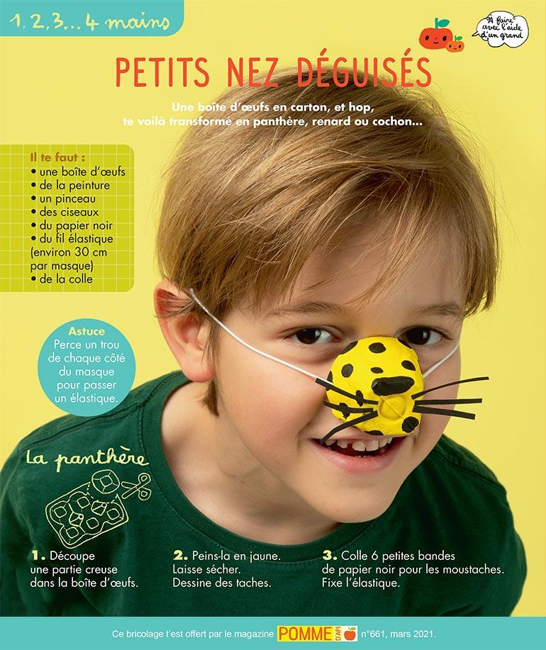 """© Benoît Pelletier. """"Petits nez déguisés""""."""