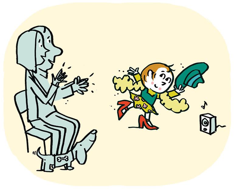 Il veut se déguiser en fille… Elle veut se déguiser en garçon… ? Illustration : Pascal Lemaître.