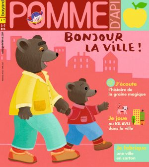 Couverture du magazine Pomme d'Api, n°662, avril 2021
