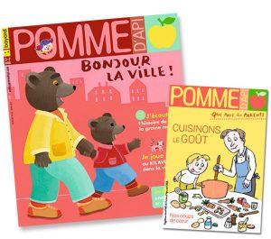 Couverture du magazine Pomme d'Api, et son supplément pour les parents, n°662, avril 2021