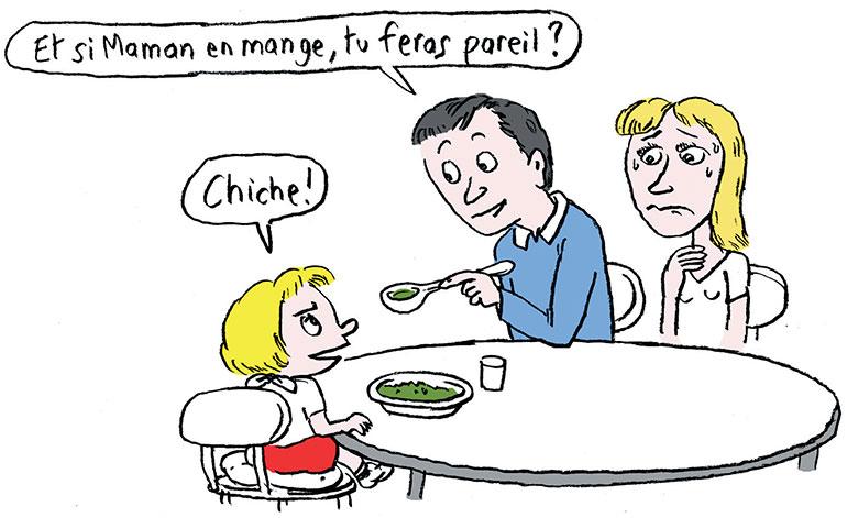 © Muzo. Élargir le répertoire alimentaire : facile à dire !