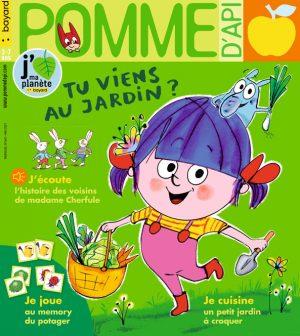 Couverture du magazine Pomme d'Api, n°663, mai 2021