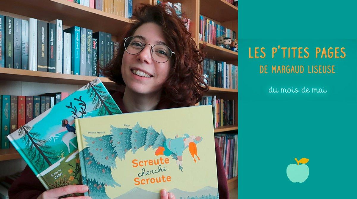 """En mai, Margaud Liseuse a choisi de nous présenter """"Screute cherche Scroute"""", un album de Swann Meralli Pizar (éd. Albin Michel) et """"Le voyage d'Od"""", un album de Susanna Isern et Ana Sender (éd Père Fouettard)."""