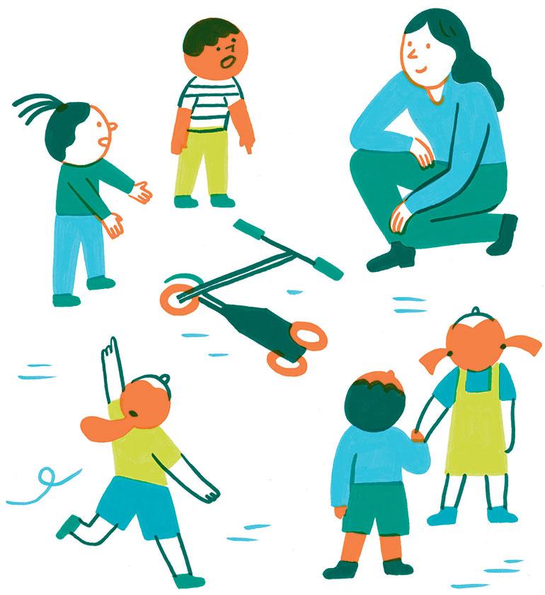 Quel rôle pour les adultes? © Julie Escoriza.