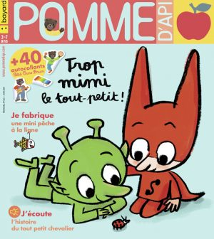 Couverture du magazine Pomme d'Api, n°664, juin 2021