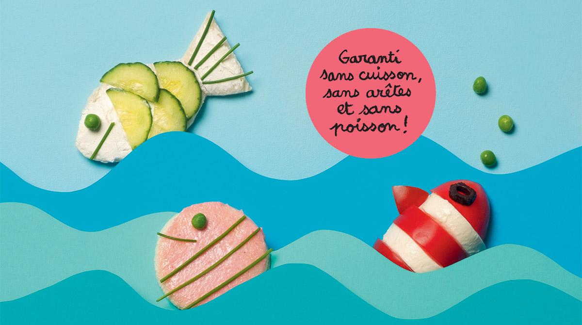 © Benoît Pelletier. Un menu tout poisson.
