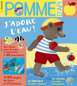 Couverture du magazine Pomme d'Api, n°665, juillet 2021
