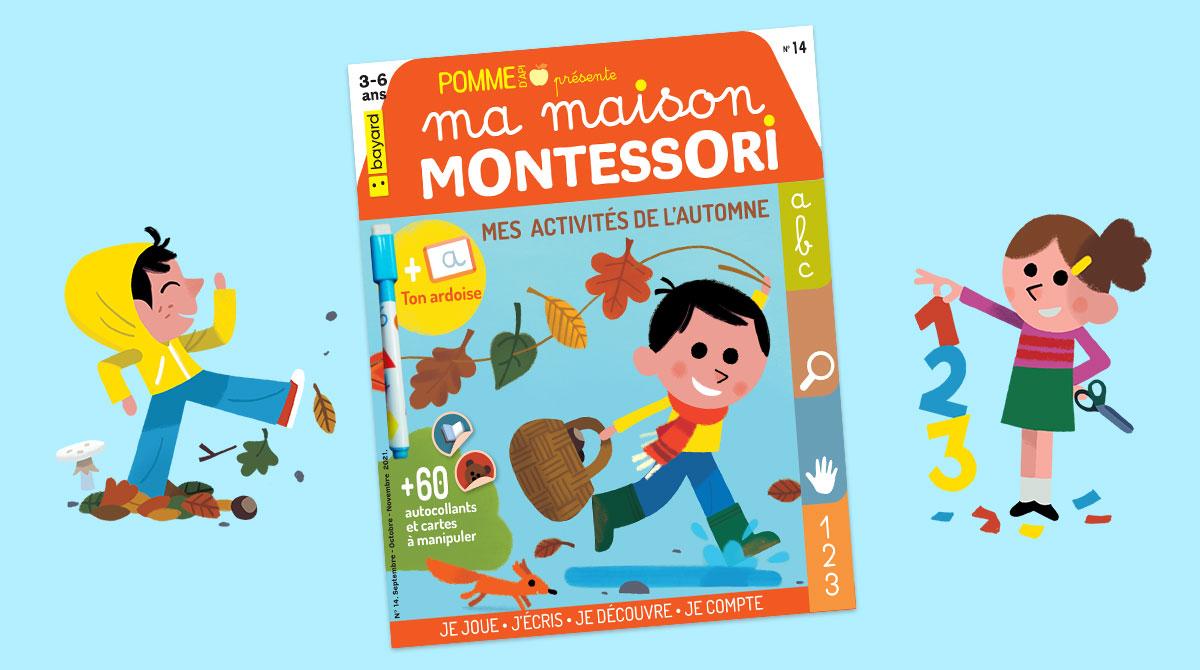 """""""Ma maison Montessori - Mes activités d'automne"""""""
