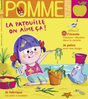 Couverture du magazine Pomme d'Api, n°666, août 2021