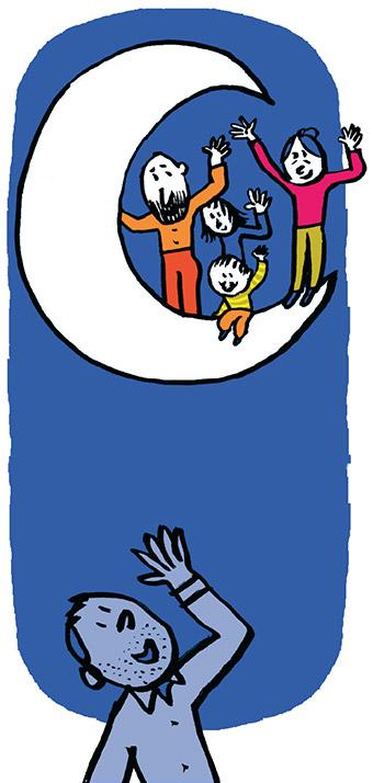 Papi, Mamie : ce qu'ils apportent aux petits-enfants (et inversement). Illustrations : Pascal Lemaître.