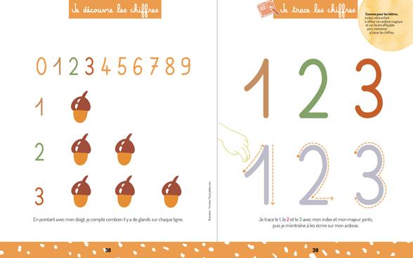 """""""Ma maison Montessori"""" : j'apprends les chiffres"""