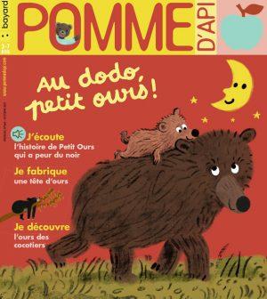 Couverture du magazine Pomme d'Api, n°668, octobre 2021