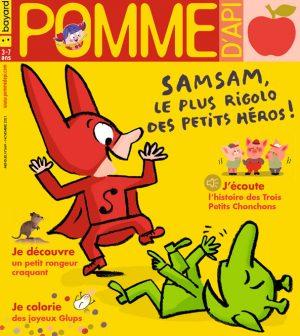 Couverture du magazine Pomme d'Api, n°669, novembre 2021
